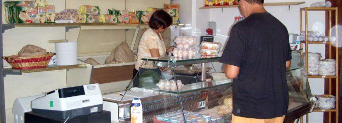 Mini market camping Cala d'Ostia