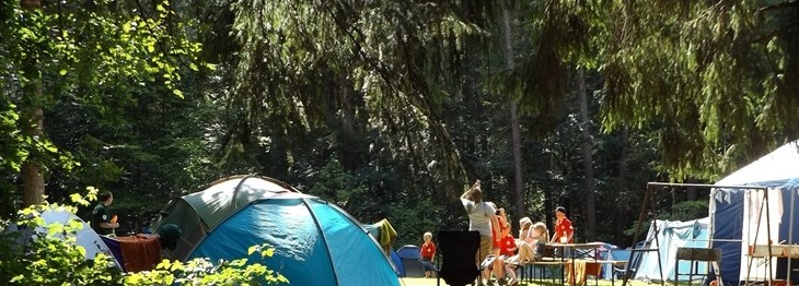 Campeggio bambini