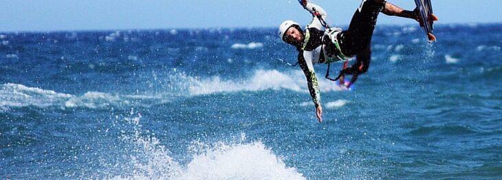 Kitesurf nel sud Sardegna: le migliori spiagge