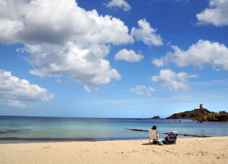 Sardegna spiaggia di Nora